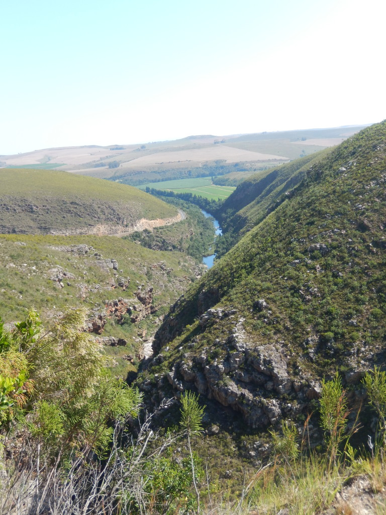 Tradouw Pass, connecting Barrydale and Swellendam, South Africa.